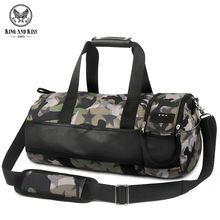 52fd709847ce King and Kiss Men Travel Duffle Polyester Camouflage Totes bags Japan Style  portable waterproof duffel bag