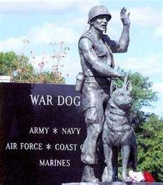 War Dog Memorial in Pennsyvania