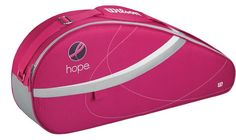 (Limited Supply) Click Image Above: Wilson Hope 2012 Bag: Wilson Tennis Bags Tennis Equipment, Tennis Gear, Sport Tennis, Tennis Clothes, Breast Cancer Support, Breast Cancer Awareness, Wilson Tennis Bags, Tennis Shop, Pink Design