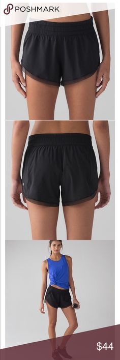 Lululemon Black Anew Short BNWT Brand new black anew short size 8. Bought final sale and didn't like the fit. Literally brand new, I only tried them on lululemon athletica Shorts