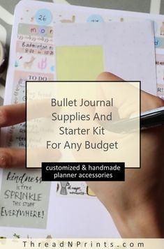 2019 Bullet Journal Kit #stationeryaddict Makeup Brush Roll, Refillable Planner, Custom Journals, Study Planner, Pocket Cards, Leather Notebook, Happy Planner, Planner Stickers, Junk Journal