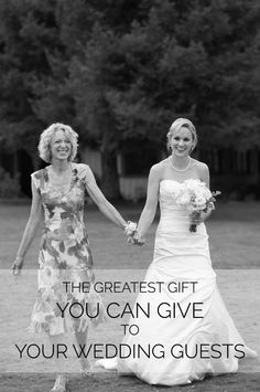 Merry Christmas! It's the final post for our Days of Joy series! Find out what the the greatest gift to give to your wedding party and your guests.