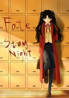 Anime 2480x3508 Fate Series Fate/Stay Night Tohsaka Rin anime girls