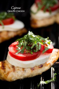 Caprese Grilled Chicken - Cooking Classy