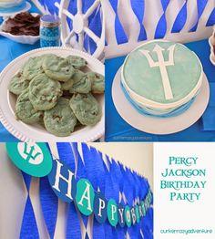 Percy Jackson Birthday Party - Our Kerrazy Adventure