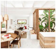 CA LA BRISA - Bataille Living Luxury Mediterranean Homes, Mediterranean Style, Luxury Homes, Modern Luxury, Modern Interior, Interior Ideas, Casa San Sebastian, Surf House, House 2