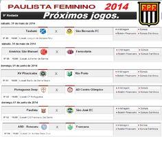 BlogdoLira: Jogos do Paulista Feminino deste Final de Semana 3...