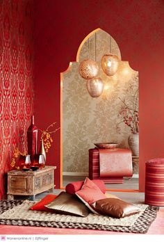Take a look at these Moroccan Interior Design Ideas for inspiration. Moroccan style living room furniture suggestions that will create an authentic Moroccan feel. Moroccan Design, Moroccan Style, Indian Interior Design, Turkish Style, Asian Interior, Design Oriental, Oriental Decor, Oriental Pattern, Morrocan Decor