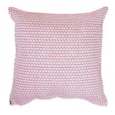 From start to finish, our printed pillows are handmade*. First, fabrics are printed by hand in an old New England factory. Then pillows are hand cut and sewn in New York. Pick from our diverse collection of organically inspired colors and designs to liven up any setting! Shipped with stuffer