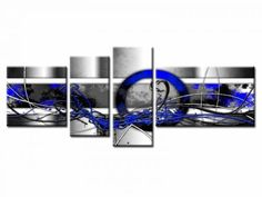 Tableau moderne Abstrait, plusieurs dimensions et couleurs disponible sur le site www.hexoa.fr