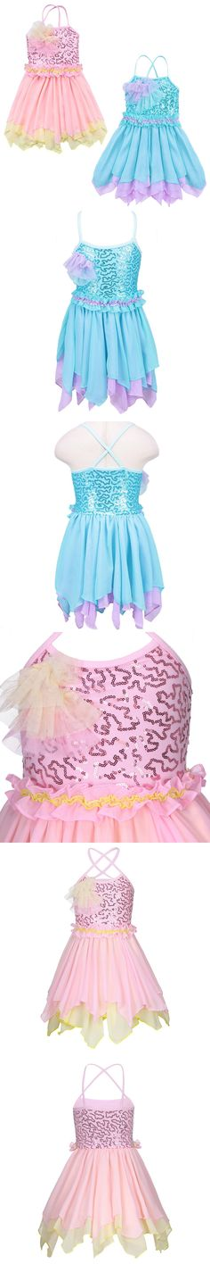 Ballet Dress for Children Girl Dance Clothing Kids Sleeveless Ballet Dresses for Girls Dance Girl Dancewear Kids Gymnastics