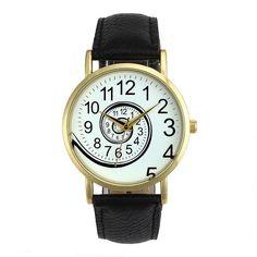 Encontrar Más Relojes de moda Información acerca de Whirlpool patrón mujeres del reloj de cuero de imitación ocasional reloj de cuarzo reloj Relogio Feminino Unisex relojes deportivos para hombres, alta calidad American Watch, China reloj teléfono de cuádruple banda Proveedores, barato caja de reloj para los relojes grandes de Shenzhen Sunshine Wholesale Co.,Ltd en Aliexpress.com