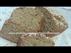 Pão integral de aveia e mel na batedeira. Bom demais!!!