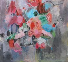 """Farida Zaman """"Burst of roses"""" Paintings For Sale, Original Paintings, Coral Art, Art Prints Online, Sketch A Day, Flower Vases, Flowers, Contemporary Artists, Saatchi Art"""