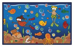 """Under The Sea"" Classroom Theme"