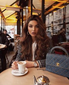 Watch live girls for free @ Freebestcams . Nespresso, Starbucks, Negin Mirsalehi, Coffee Girl, How To Pose, Michael Kors Jet Set, Trendy Outfits, Womens Fashion, Fashion Trends