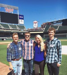 The interns' first stop in Minneapolis was at Target Field to meet Twins' employees. They offered insight to their line of work, as well as advice for the future.
