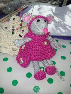 152 Beste Afbeeldingen Van Muizen Haken Crochet Mouse Crochet