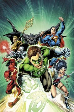 Justice League  44 Green Lantern 75th Anniversary Variant