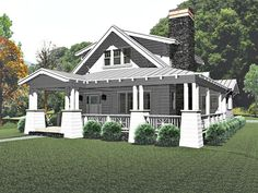 Craftsman Style House Plans - Anatomy and Exterior Elements - Bungalow Company Porch House Plans, Cottage House Plans, Best House Plans, Small House Plans, Craftsman Bungalow House Plans, Craftsman Style Homes, Craftsman Bungalows, Bungalow Homes Plans, Craftsman Kitchen