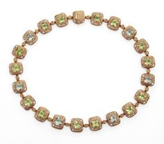 Audrius Krulis necklace in pink gold with citrine, green amethyst, yellow sapphires, and white diamonds. Melody Fashion, Fine Jewelry, Jewellery, Pink And Gold, Gemstone Jewelry, Amethyst, Sculptures, Pendants, Pendant Necklace