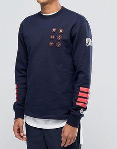 Image 3 of Billionaire Boys Club Sweatshirt With Badges