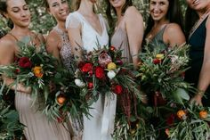 Naturally Boho Maine Wedding at The Lookout