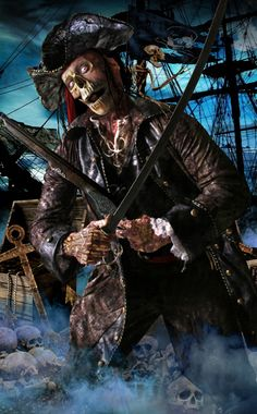 pirate zombies | Bayville Screampark: Zombie Pirates