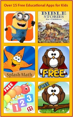 Free Educational Kindle Apps for Kids
