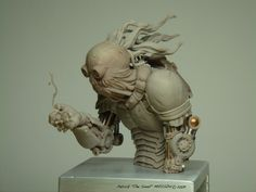 Awesome sculpt - reminds me of oddworld