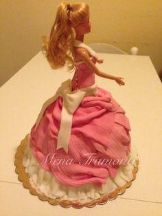 Torta Barbie principessa