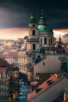 In pretty Prague, Czech Republic.