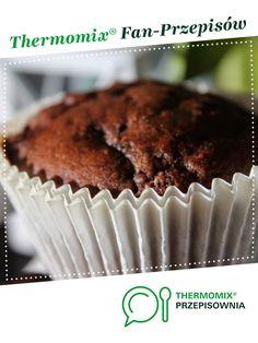 muffiny czekoladowe jest to przepis stworzony przez użytkownika gosiuniat. Ten przepis na Thermomix<sup>®</sup> znajdziesz w kategorii Słodkie wypieki na www.przepisownia.pl, społeczności Thermomix<sup>®</sup>. Food And Drink, Breakfast, Kitchen, Thermomix, Woman, Morning Coffee, Cooking, Kitchens, Cuisine