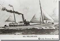 "Lady Denman Museum: The Wooden Steamer ""Hillmeads"" – Built at Jervis B..."