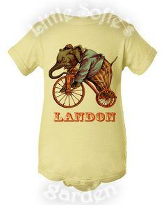 Kids Baby Toddler Boy T-shirt Onesie - Vintage Ride - Birthday Shirt Vintage Circus Party on Etsy, $15.00