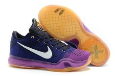 5b949b4e69539 The cheap Authentic Nike Kobe 10 Elite Low  Draft Pick  Court  Purple White-Vivid Purple-Cave Purple Shoes factory store are awesome pair  of shoes but it ...