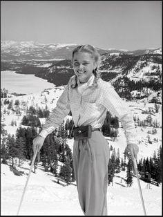 Vintage Ski Vintage Ski,Vintage, Sport Above Donner Lake. Truckee California Old 40 Related posts:Byer of Maine 11 ft. Ski Vintage, Vintage Ski Posters, Alpine Skiing, Snow Skiing, Ski Fashion, Look Fashion, Sporty Fashion, Fashion Women, Winter Fashion