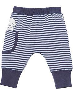 Cute bebe stripped boys pants
