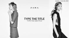 Pin by vi le on zara pinterest ppt template zara ppt templatetemplateszararole modelstemplate toneelgroepblik Gallery