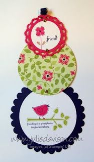 Julie's Stamping Spot -- Stampin' Up! Project Ideas Posted Daily: Best of Everything Telescoping Card