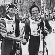 #1978 when @strattonresort hosted the first - and last - World Cup #ski races in #vermont. A young Phil Mahre beat the GS field - including Ingemar Stenmark - and brother Steve took the Slalom win. The @fisalpine Ladies races at #killington this weekend will be exciting for sure - and though just one stop on the tour - a very meaningful one to the dedicated East Coast ski scene. Huge props to @killingtonmtn for making it happen! #kindofabigdeal #skiing #instaski #skiracing #vintageski…