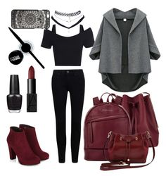 """"""""""" by lousworld on Polyvore featuring moda, Sophie Hulme, Want Les Essentiels de la Vie, M&Co, NARS Cosmetics, OPI, Maybelline i Wet Seal"""