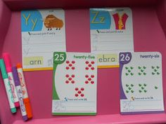 Rockabye Butterfly: Y and Z, our last week!