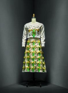 Christopher Kane (British, born 1982). Dress, spring/summer 2014. Courtesy of Christopher Kane | Photo © Nicholas Alan Cope. #ManusxMachina #CostumeInstitute