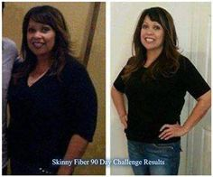 Lydia's 90 day challenge results!!  All done with my first 90 day challenge!  I've changed my eating habits to smaller portions and eat healthier. Skinny Fiber has helped me control cravings and snacking. Also, since you need to increase water intake, I very, very rarely drink soda. I was completely addicted to Diet Pepsi! I started going to the gym the last two weeks, so, I'm super excited to see my results to my next 90 day challenge.  It's not a magic pill and requires effort on your ...