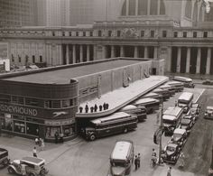 Greyhound Bus Terminal, 33rd and 34th Streets between Seventh and Eighth Avenues