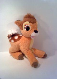 Vintage Disney Bambi Plush I think I had this before Disney Baby Rooms, Disney Nursery, Baby Disney, Disney Tsum Tsum, Disney Plush, Disney Toys, Doll Toys, Pet Toys, Kids Toys