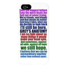 grey anatomy lexie quote | Gray Gifts > Gray Phone Cases > Grey's Anatomy Quotes iPhone 5 Case