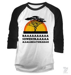 Basowenya Baseball Shirt... (you read that like you were watching the movie)