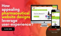 Build a user-friendly pharmaceutical platform using WEBSITE DEVELOPMENT SERVICES of SynapseIndia.   Create a lasting user-experience with creative designs and increase sales of products. Website Design Company, Increase Sales, User Experience, Creative Design, Platform, Create, Products, Web Design Company, Heel